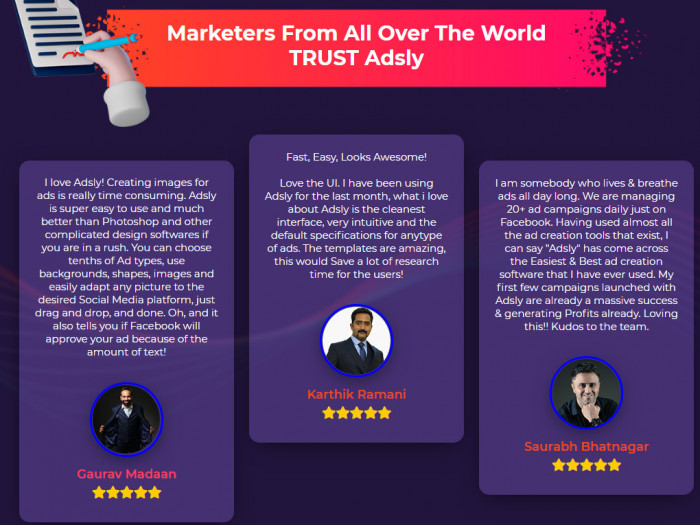 Adsly Commercial Ad Design Software by Reshu Singhal 1